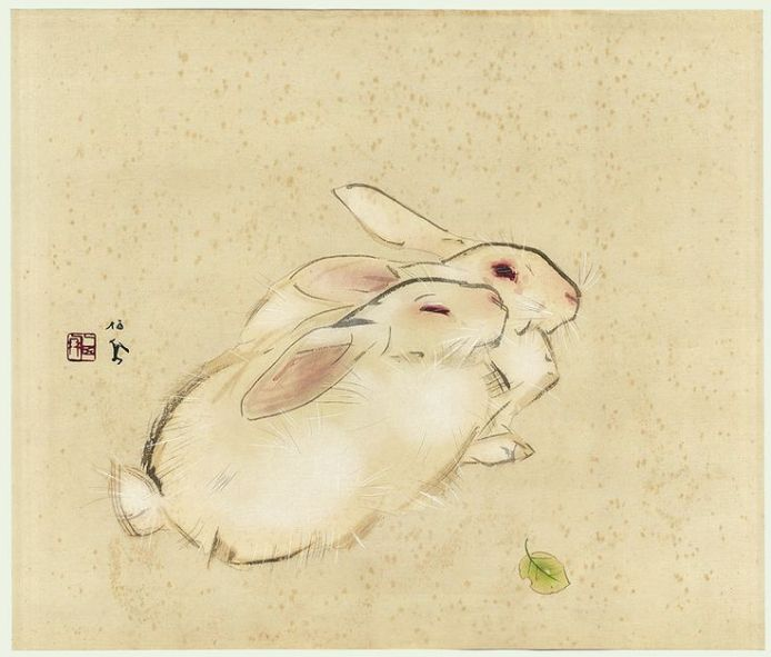 Takeuchi Seiho Rabbit