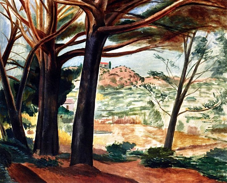 Forest at Martigues Andre Derain 1913