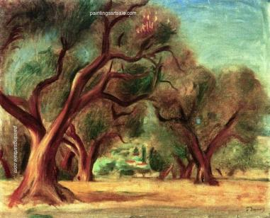 Forest_at_Lecques_(Provence) Andre Derain