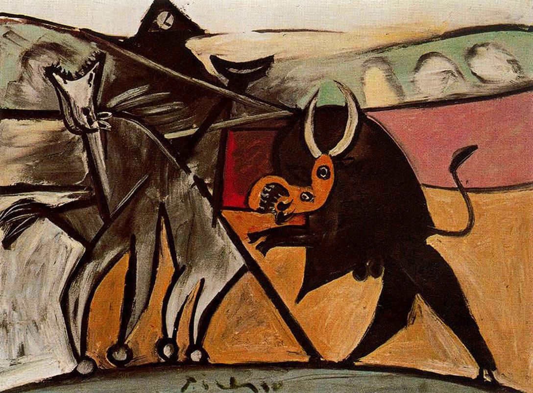 Picasso Bull fighting.jpg