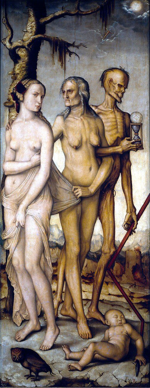 Hans Baldung Grie Three Ages of Man and Death