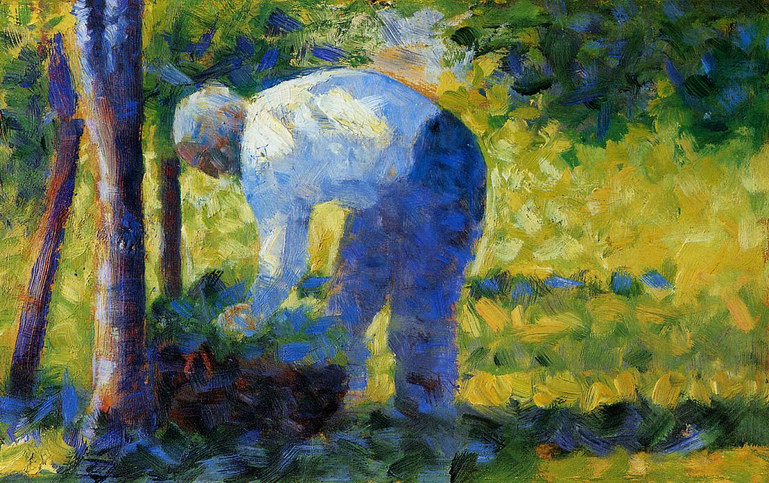 Georges Seurat_the-gardener-1884