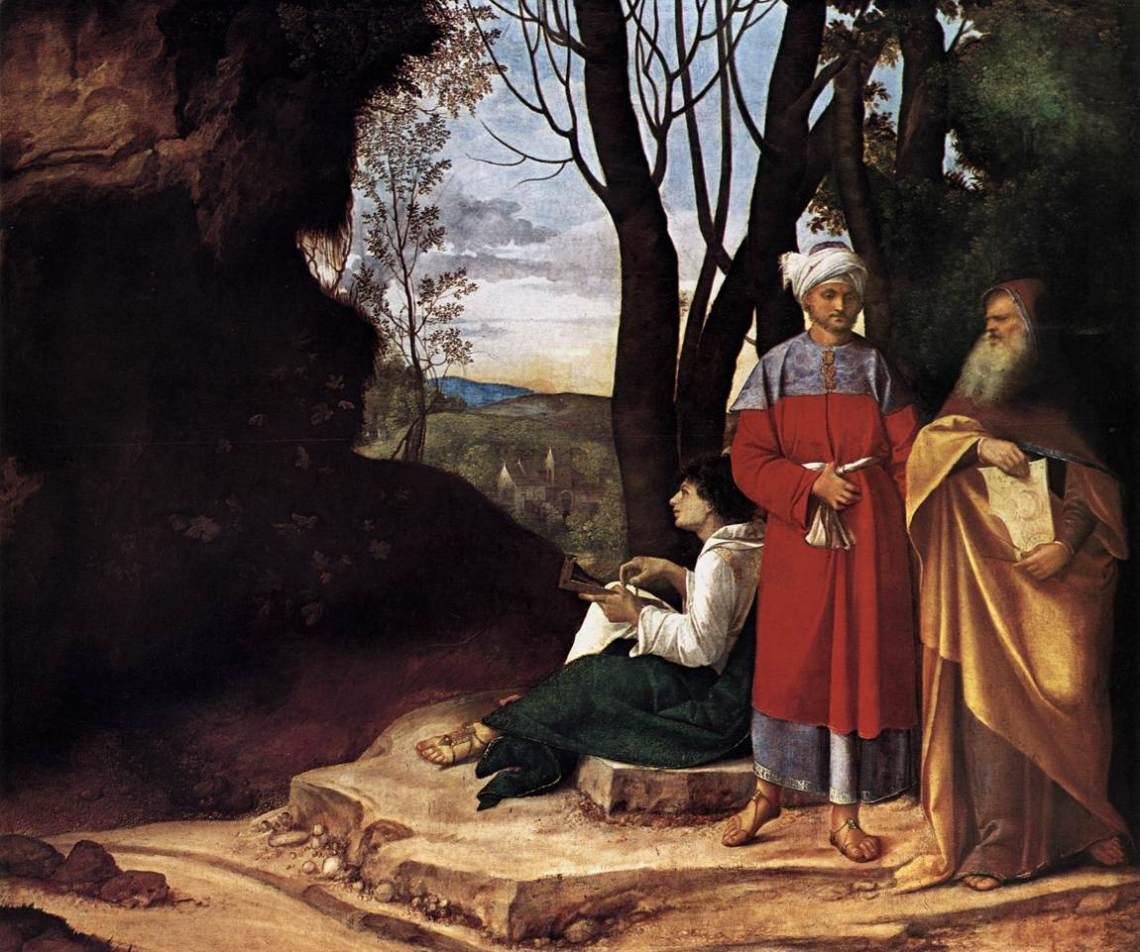 Giorgione Three Philosophers 1508